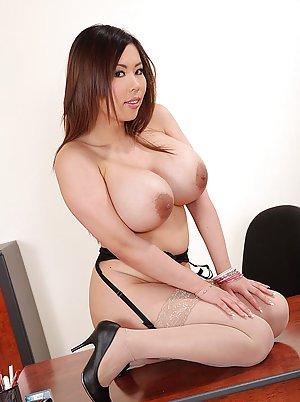 Free Big Tits in Stockings Porn