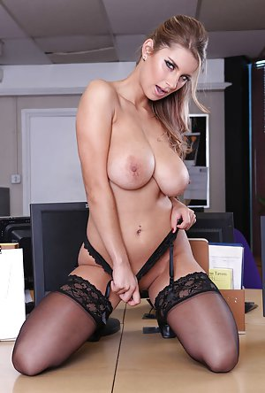 Free Big Tits in Office Porn